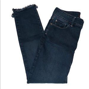 NYDJ Ami Skinny Legging Frayed Hem Jeans